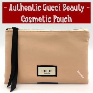 🆕 Gucci Beauty Cosmetic Pouch Bag